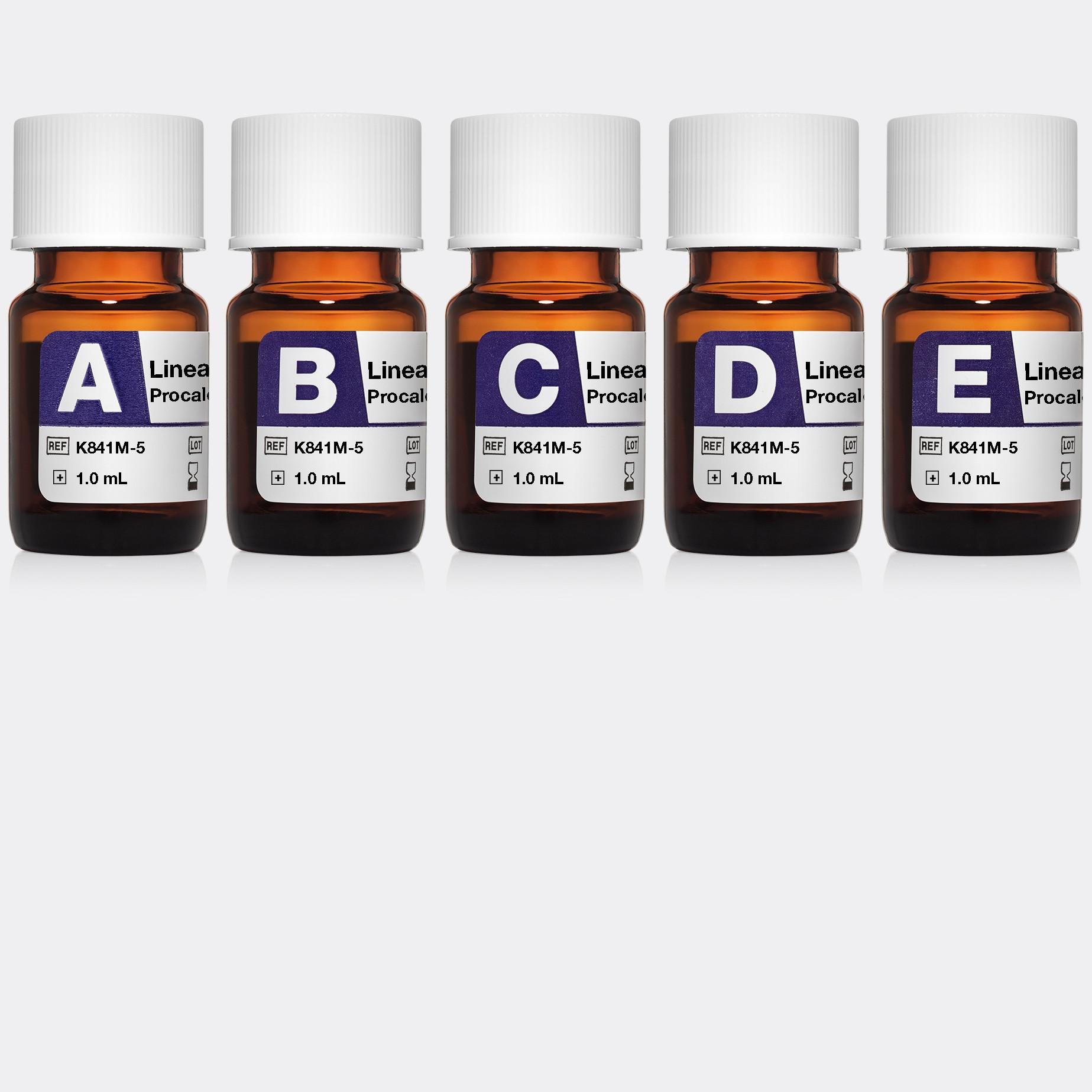 Linearity FD Procalcitonin bioMérieux VIDAS and miniVIDAS