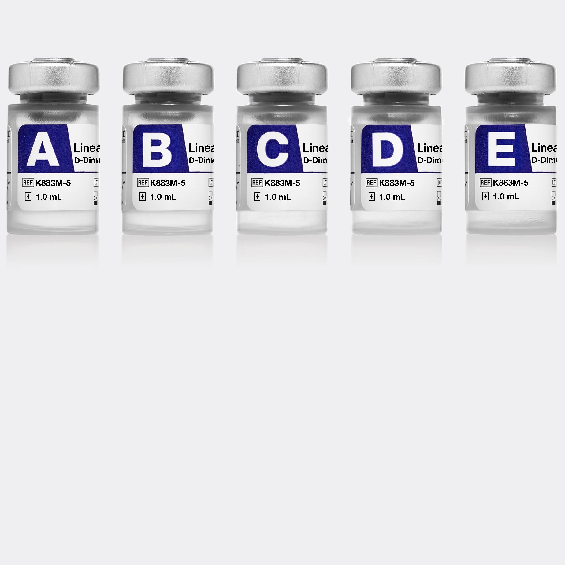 Linearity FD D-Dimer PATHFAST Immunoanalyzer
