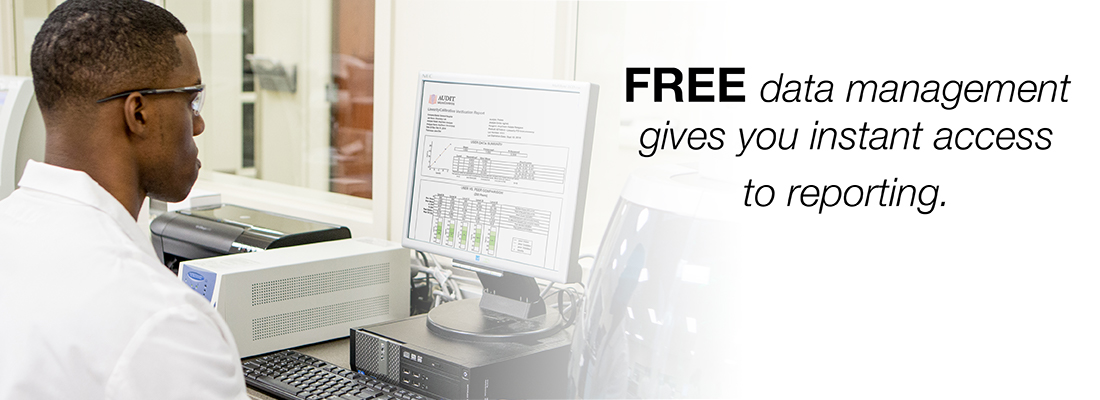 Free data mangament gives you instant access to reporting.